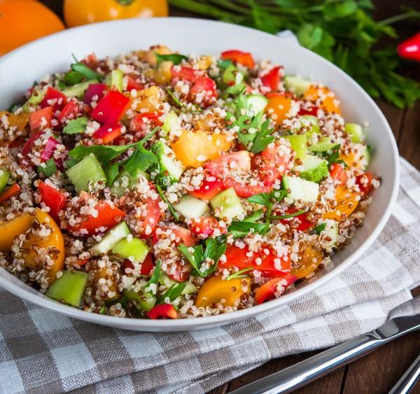 Quinoa-Salat-Vegan