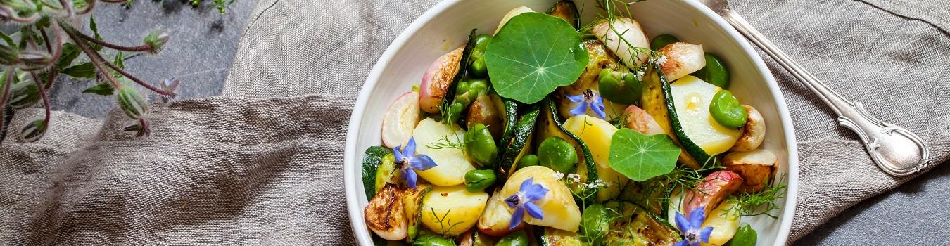 Zucchini-Pfanne-Banner