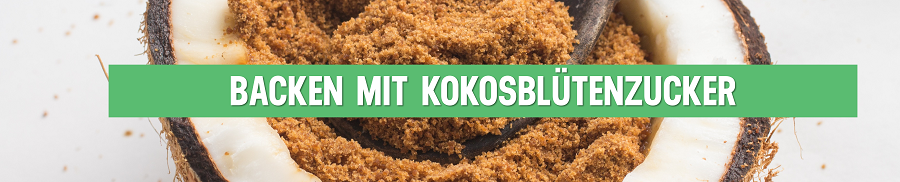 Kokosbl-tenzucker-Backen