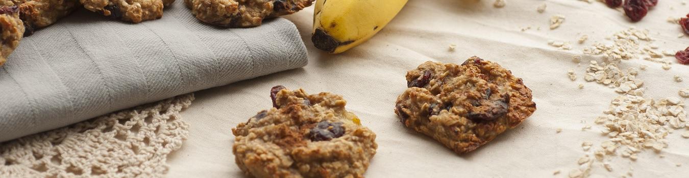 Vegane-Banane-Cookies