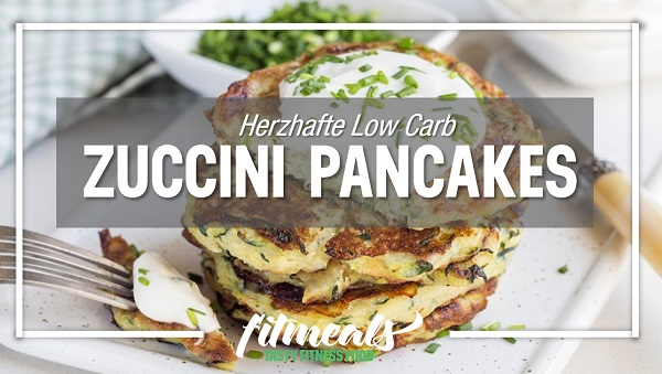 Low-Carb-Zuccini-Pancakes