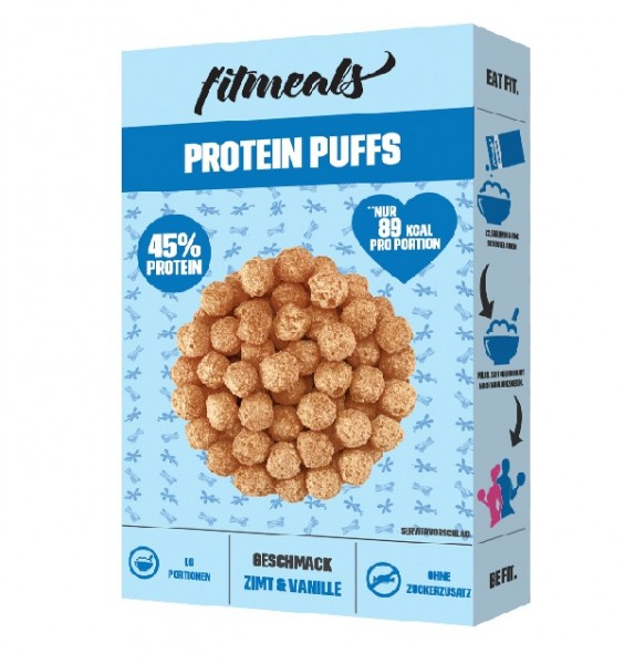 Protein Puffs Zimt Vanille
