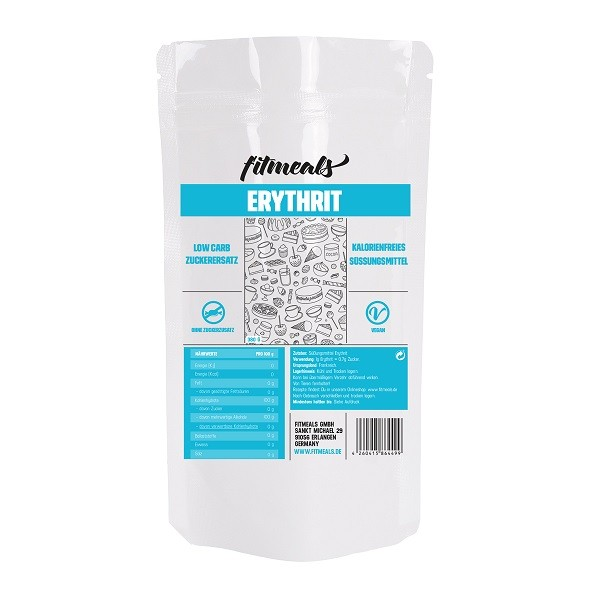 Erythrit - Low-Carb Zuckerersatz - 380g