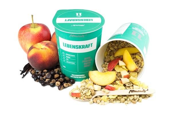 LEBENSKRAFT - Brainfood Apfel Pfirsich Amaranth Müsli