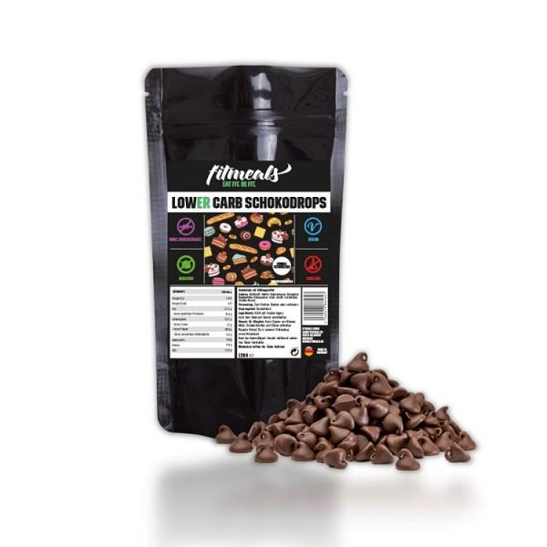 Lower Carb Schokodrops - Dunkle Schokolade 120g