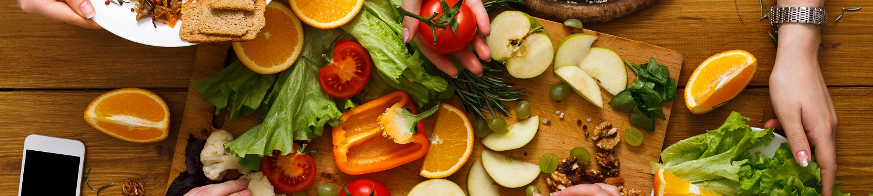 Gesundes-Obst-und-Gemuese-Banner