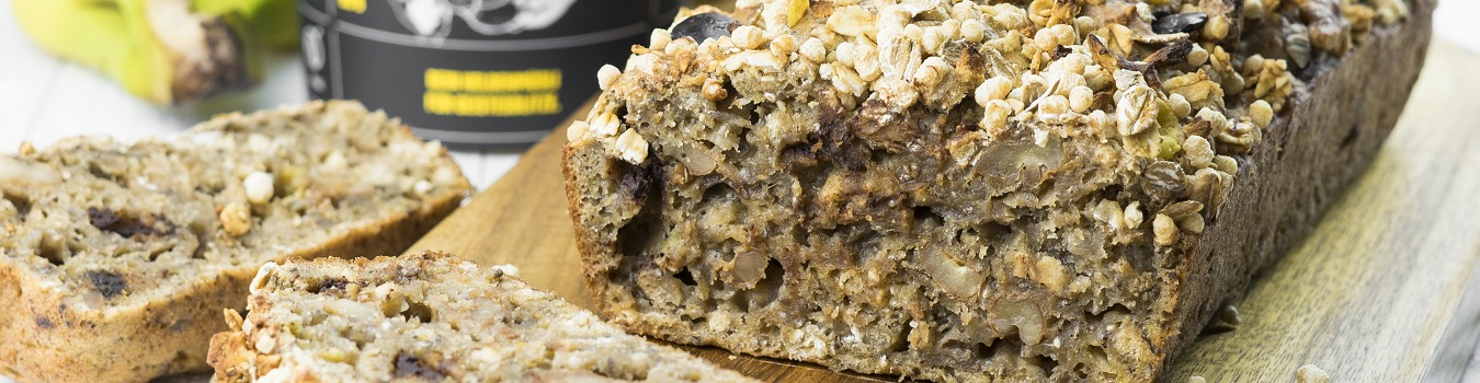 Low-Carb-Bananenbrot-Banner