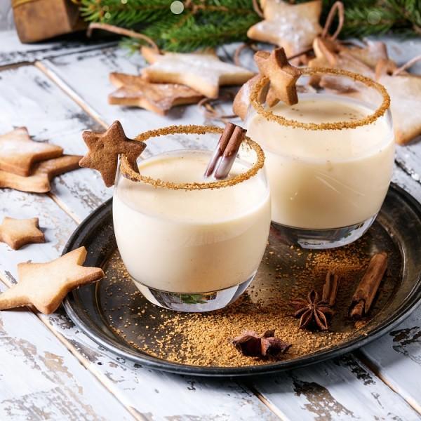 Weihnachts-Protein-Shake