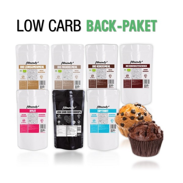 Low Carb Back Paket