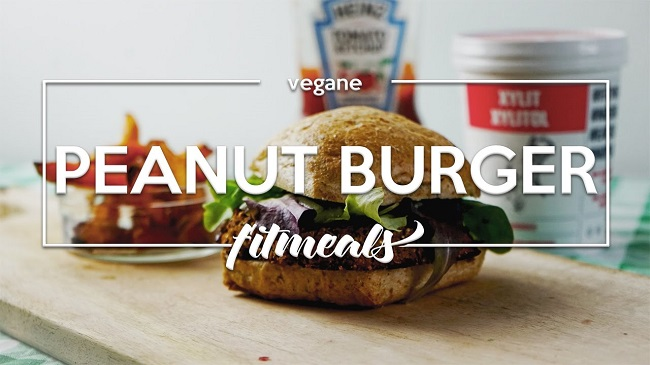 Peanut-Burger-Muskelaufbau