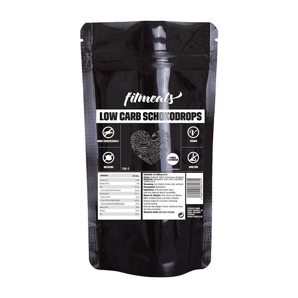Low Carb Schokodrops - Dunkle Schokolade 700g