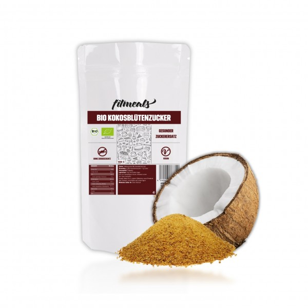 Bio Kokosblütenzucker Zuckerersatz 1kg