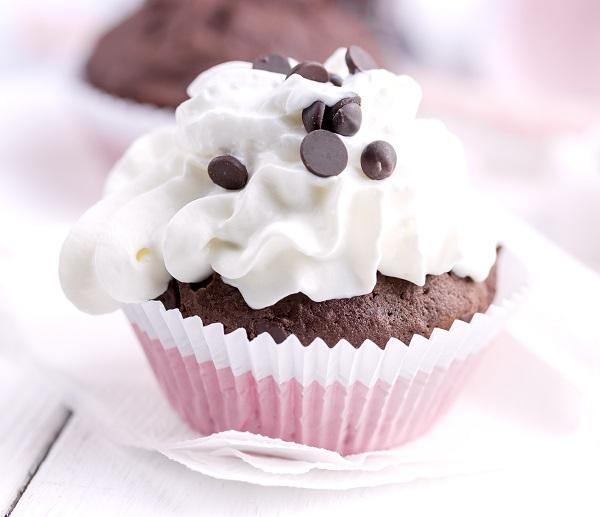 Schokodrops-Cupcake