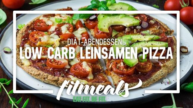Low-Carb-Leinsamen-Pizza-Di-t-Abendessen