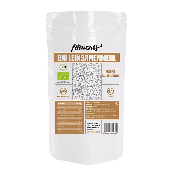 Low Carb Bio Leinsamenmehl 225g