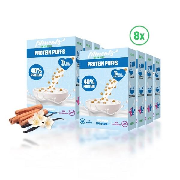 Protein Puffs Zimt Vanille 8er Pack