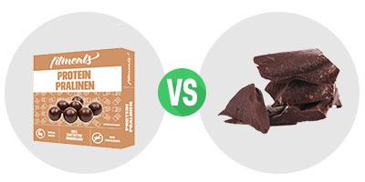 ProteinPralineZartbitter_VS_Schokolade