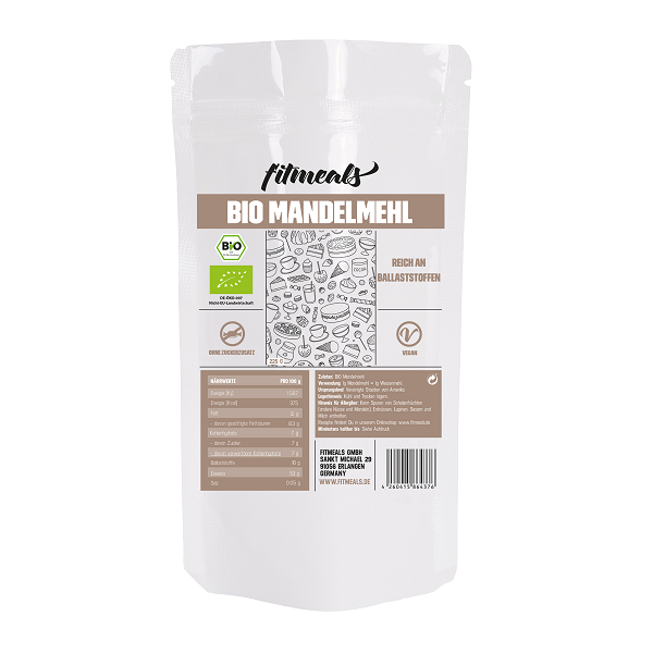 Low Carb Bio Mandelmehl 225g