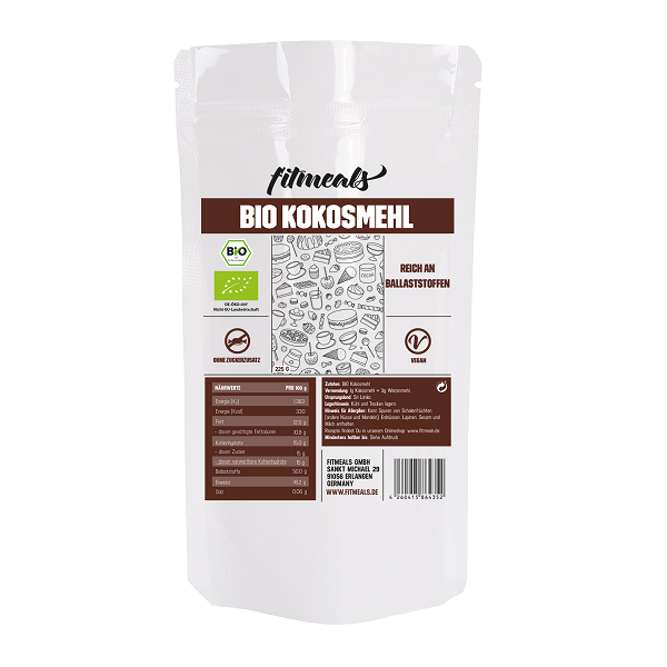 Low Carb Bio Kokosmehl 225g