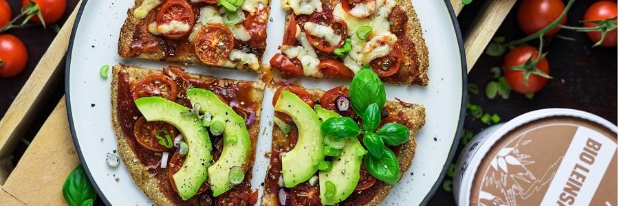 Leinsamenpizza-Rezept