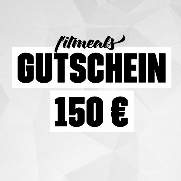 150 € Geschenk Gutschein