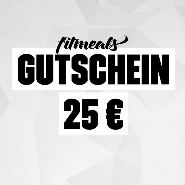 25 € Geschenk Gutschein