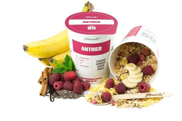 ANTRIEB - Low Fat Protein Chia Samen Grüner Tee Müsli