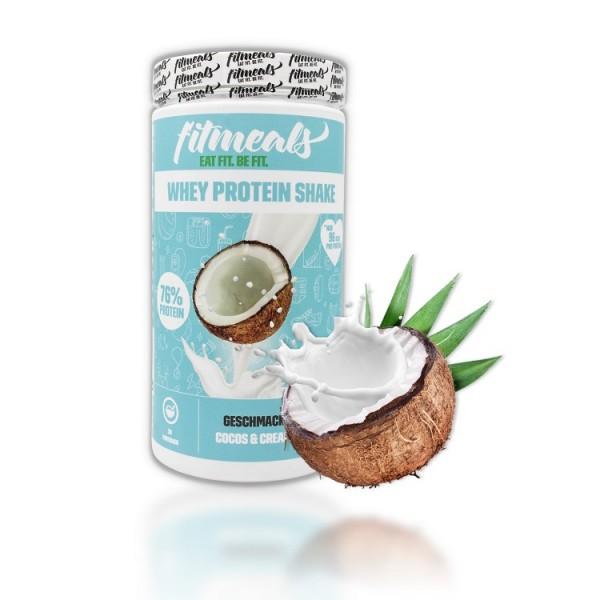 Whey Protein Shake Cocos & Cream