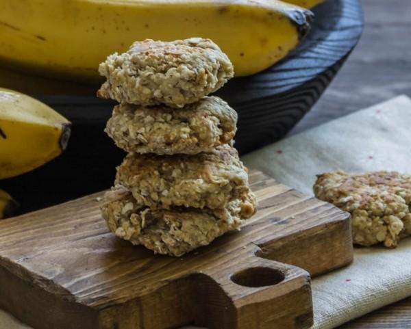 Vegane-Haferflocken-Cookies