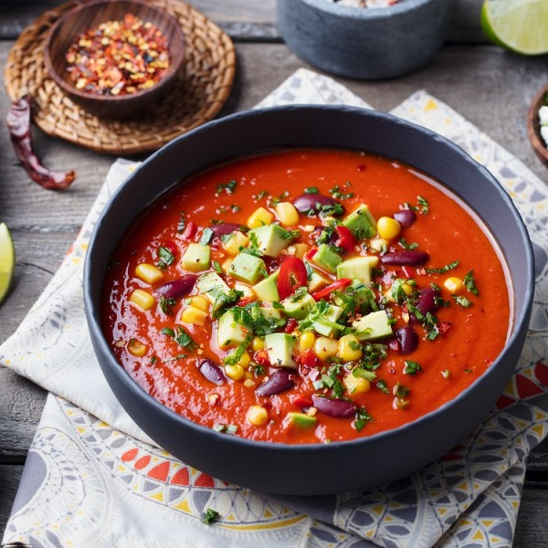 Mexiko-Winter-Suppe