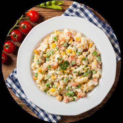 Salat-mit-Mayonaise