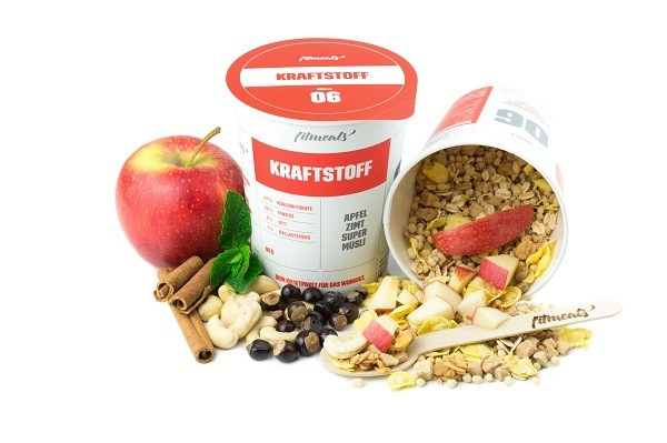 KRAFTSTOFF - Low Fat Protein Guarana Apfel Zimt Müsli